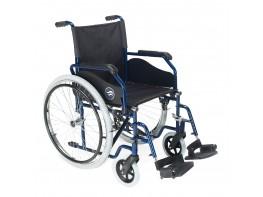 """""""Breezy 90 silla de ruedas 24"""""""" maciza ancho 45cm azul"""""""