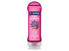 Gel de masaje 2in1 hidrantante y estimulante. Aroma a especias con notas florales. De base acuosa, hipoalergénico sin fenoxieltanol,   sin parabenos.